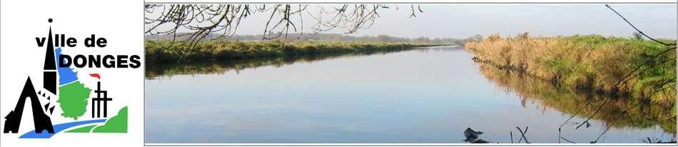 La Loire à Donges, quand tout va bien. © Ville de Donges