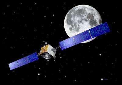 La sonde européenne Smart-1 qui est actuellement en orbite autour de la Lune.Crédit : ESA