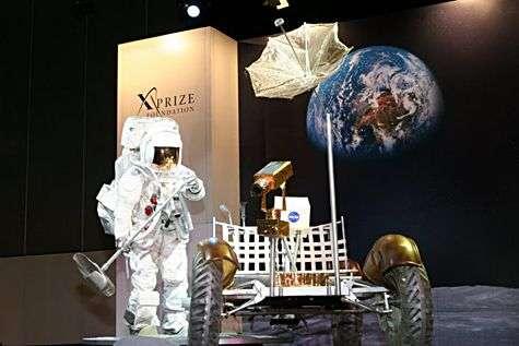 Le voyage vous tente ? Crédit : Lunar X-Prize