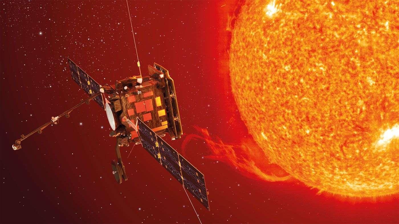 À ce jour, le record de distance à proximité du Soleil est détenu par la sonde Helios de la Nasa, qui s'en était approchée à 43,5 millions de km en avril 1976. Même si elle le dépasse, celui de Solar Orbiter ne tiendra pas longtemps. Le record sera en effet pulvérisé en 2024 par Solar Probe Plus de la Nasa, laquelle devrait s'en approcher à seulement 6,3 millions de km. ©