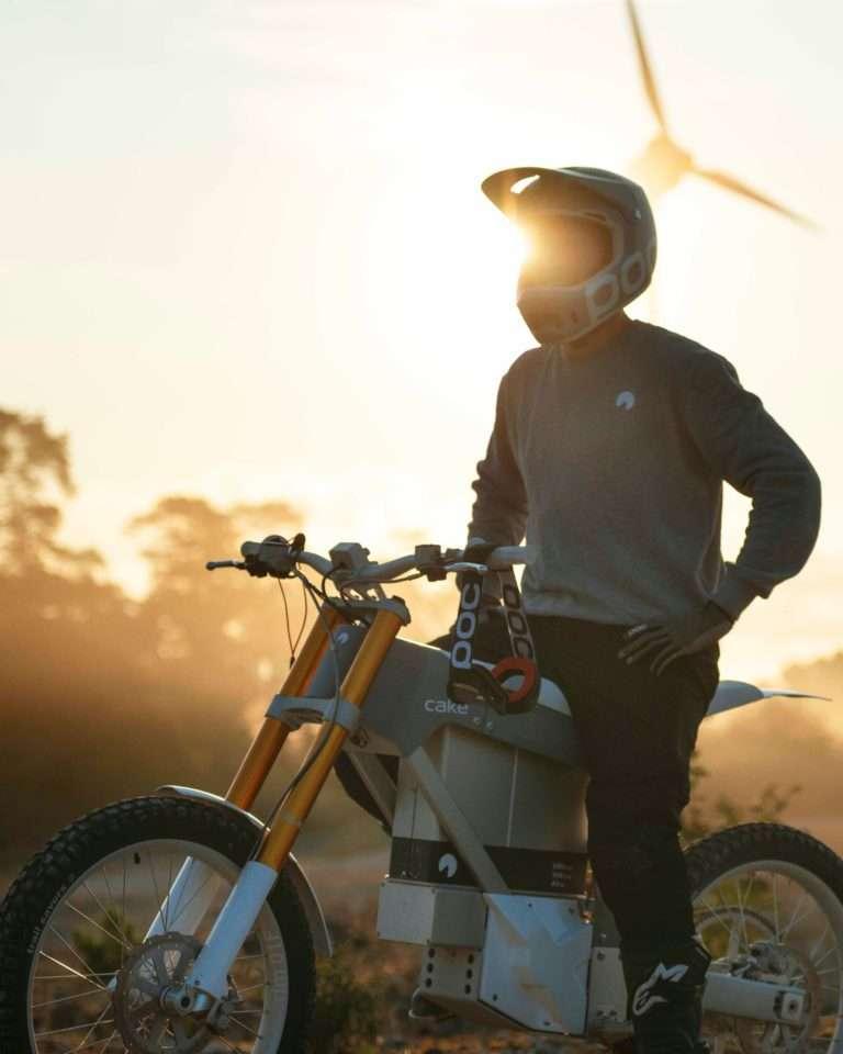 CAKE conçoit des motos électriques tout terrain pour le grand public. © CAKE