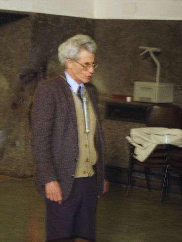 Raymond Stora lors d'une conférence. Crédit : Dmitri Sorokin