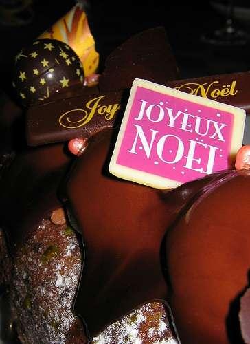 Une exception pour Noël : même les diabétiques peuvent manger de la bûche. © Olibac Attribution 2.0 Generic