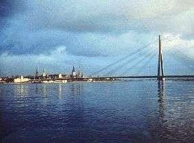 Embauchure de la Mer Baltique