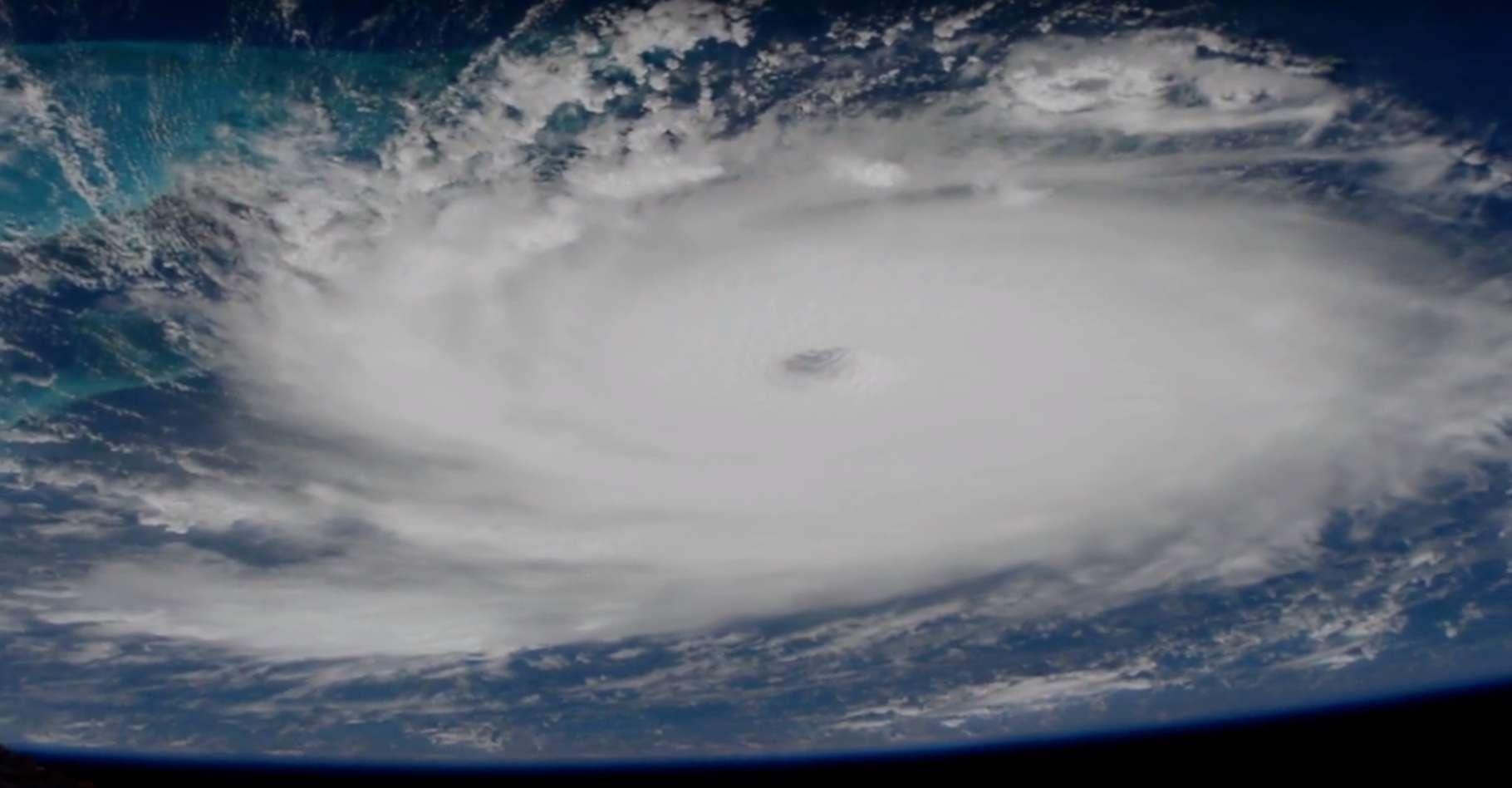 Les images de l'ouragan Dorian vu de l'espace donnent un aperçu de la puissance du phénomène. © Nasa Video, YouTube