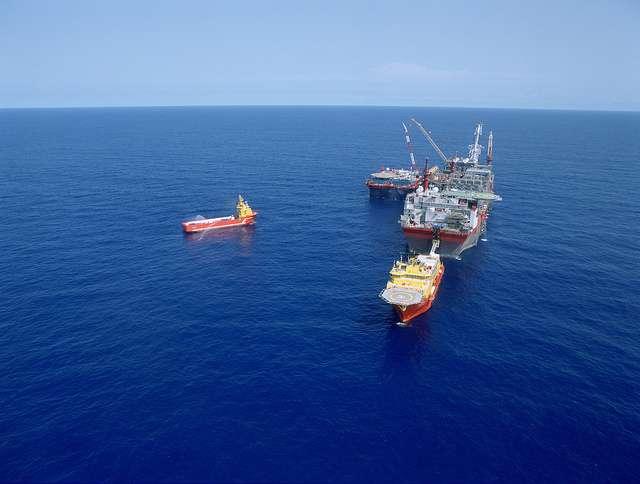 Le Bonga, responsable de la marée noire, extrait des hydrocarbures au large du Nigeria depuis 2005. © Shell, Flickr, cc by nc nd 2.0