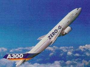 Depuis 1997, le CNES utilise un Airbus A300 pour effectuer des vols paraboliques