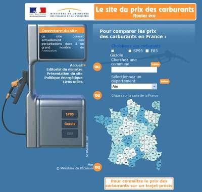 Prix du carburant : comparer les prix en ligne