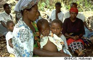 En 10 ans, le nombre de cas du paludisme a chuté de 50 % dans 43 pays. Un chiffre qu'il faut continuer à voir progresser. © OMS, Hollyman
