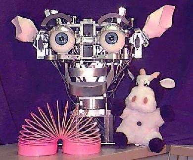 Kismet, au MIT, fait partie de ces projets visant à humaniser les robots pour faciliter leurs relations avec nous. © Peter Menzel