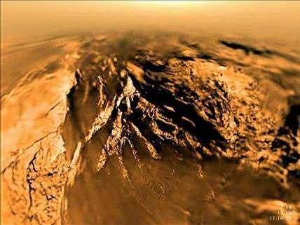 Extrait de la vidéo consacrée à la descente de Huygens sur Titan(NASA)