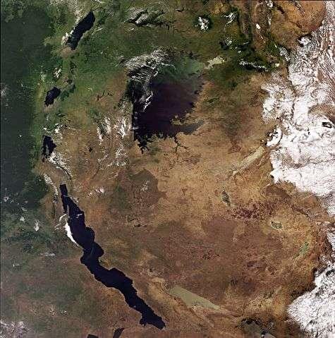 Cette image a été réalisée par la caméra Meris (Medium Resolution Imaging Spectrometer) d'Envisat le 6 octobre 2008, en mode pleine résolution qui permet de distinguer des détails de 300 m au niveau du sol. Crédit Esa