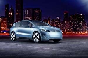 Up! Lite, le concept-car de Volkswagen le plus économe en carbone du monde. © DR