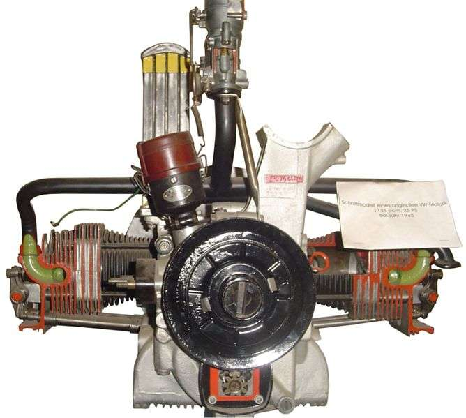 Étienne Lenoir fabrique le premier moteur à combustible interne, ou moteur à explosion, exploitant le principe de combustible alimenté par une source d'énergie. © bukk, CC BY-SA 3.0, Wikimédia Commons