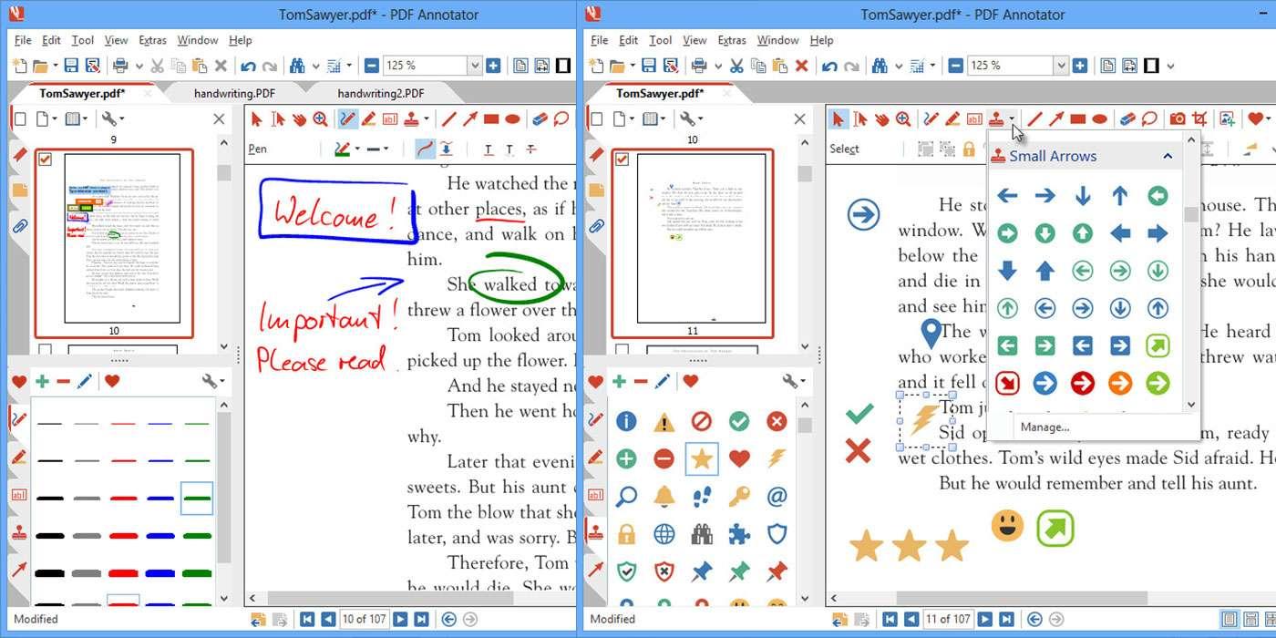 Corriger des documents numériques avec PDF Annotator © GRAHL software design