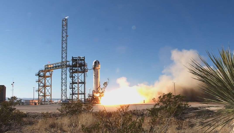 Record de Blue Origin : 107 km atteints par le New Shepard