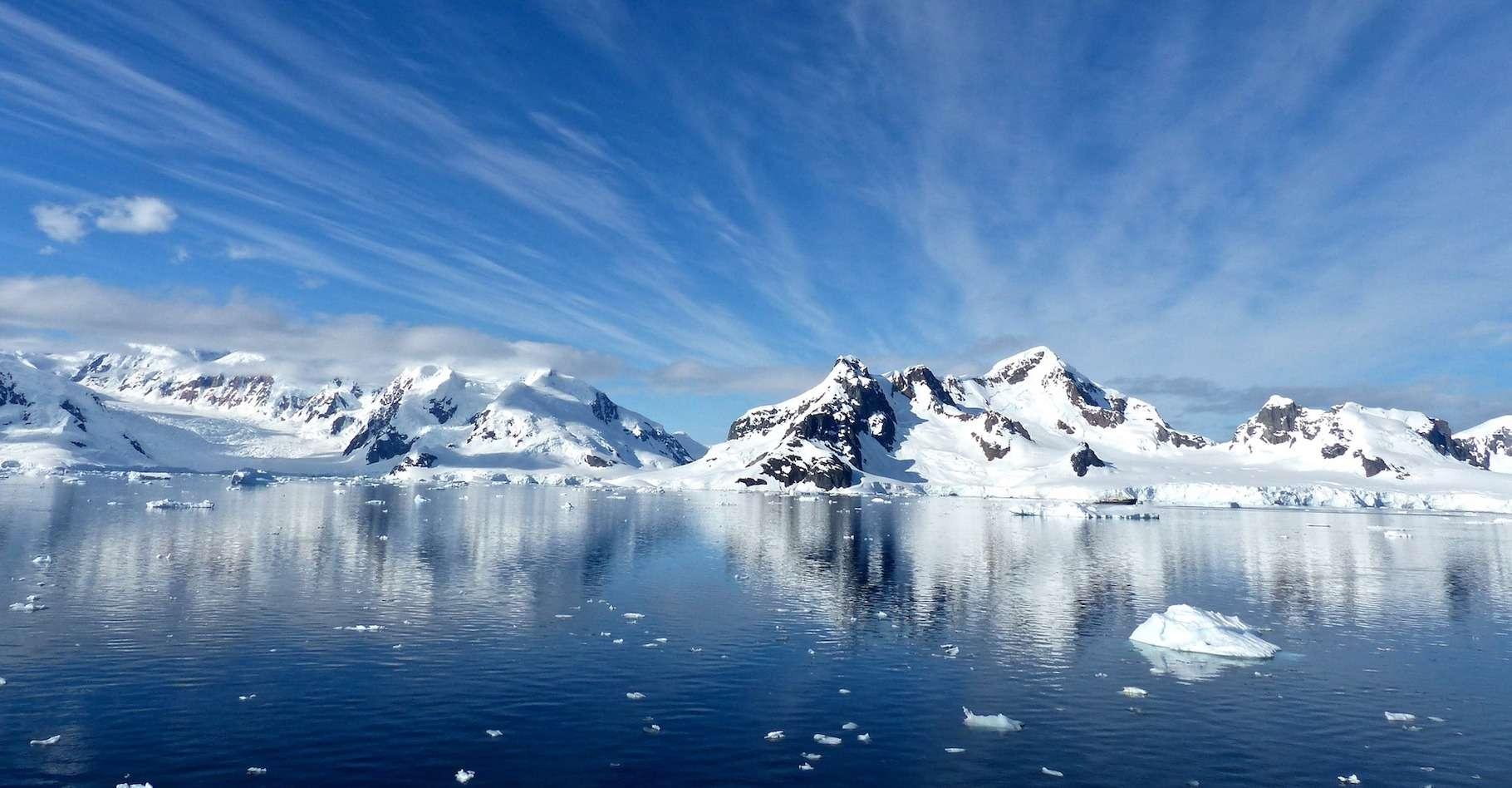 Température record en Antarctique. © Adobe Stock