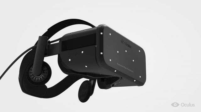 L'Oculus « Crescent Bay » est la dernière version du casque de réalité augmentée de la société éponyme désormais propriété de Facebook. Après plusieurs années de développement, le modèle grand public devrait sortir courant 2015. © Oculus