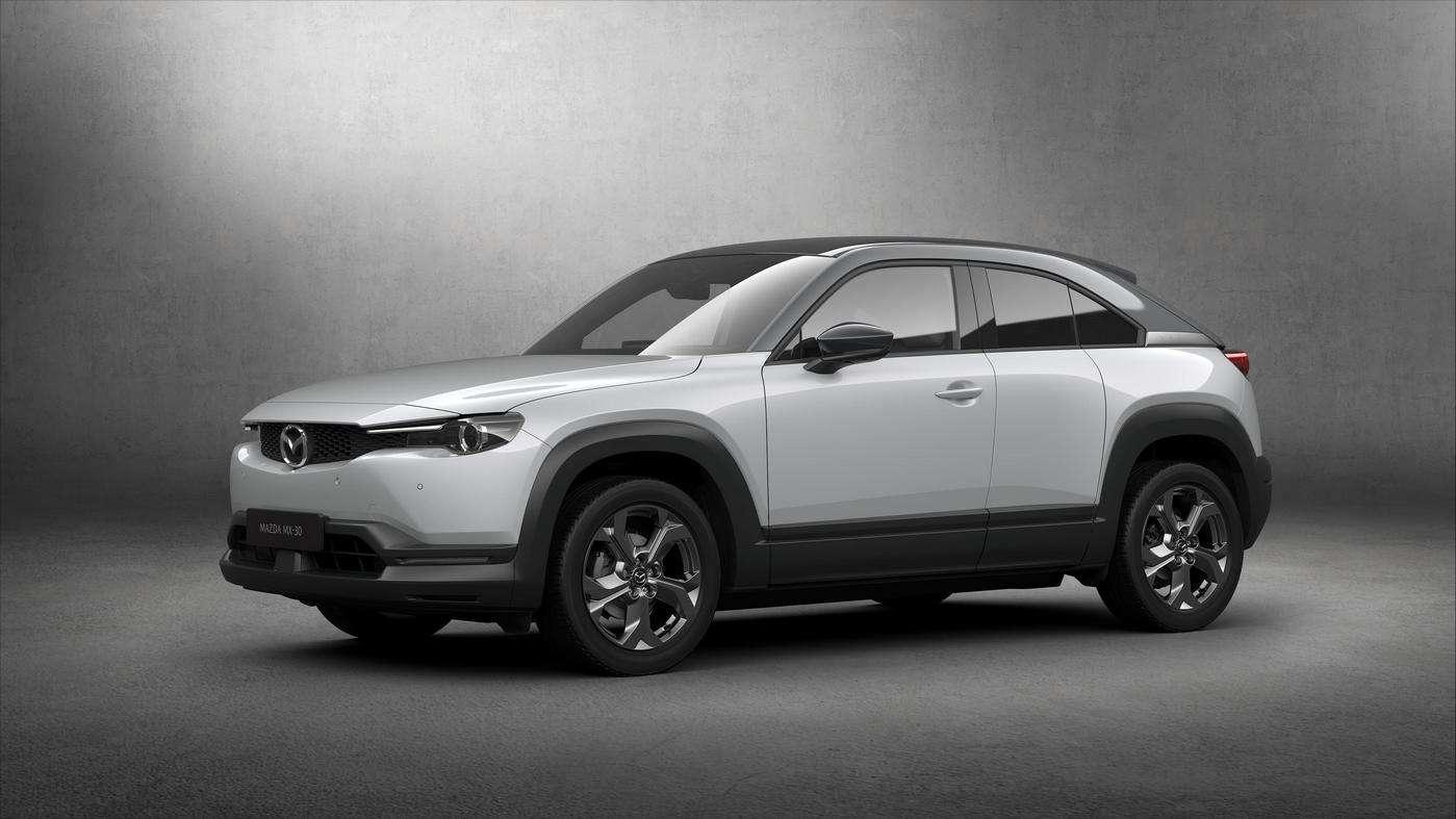 Le Mazda MX-30, sera la première voiture électrique de la marque. © Mazda