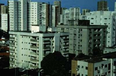 Urbanisme vertical d'une grande ville du Brésil.© IRD/Pierre Gazin