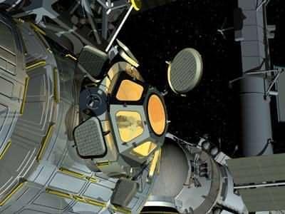 Chambre avec vue pour la Station spatiale internationale : la coupole d'observation ! (crédit : ESA-D. Ducros)