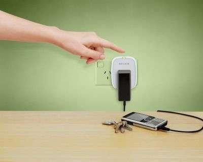 Le Conserve Socket s'attaque à l'énergie vampire. © Belkin