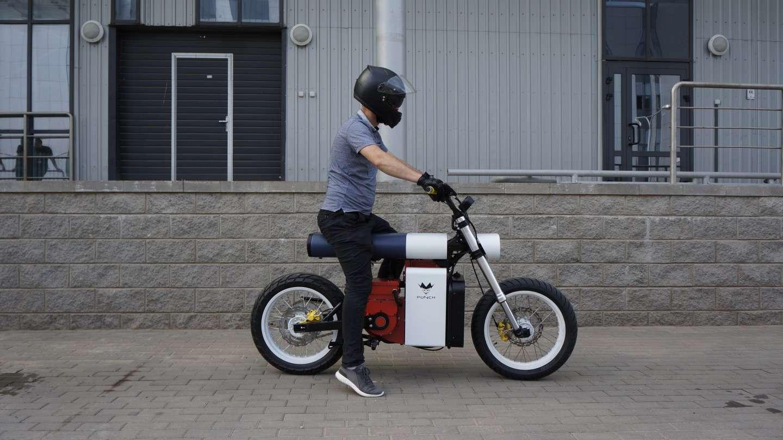 La Punch Moto existe aussi avec une motorisation plus puissante de 15 kW et 20 ch. © Punch Motorcycles