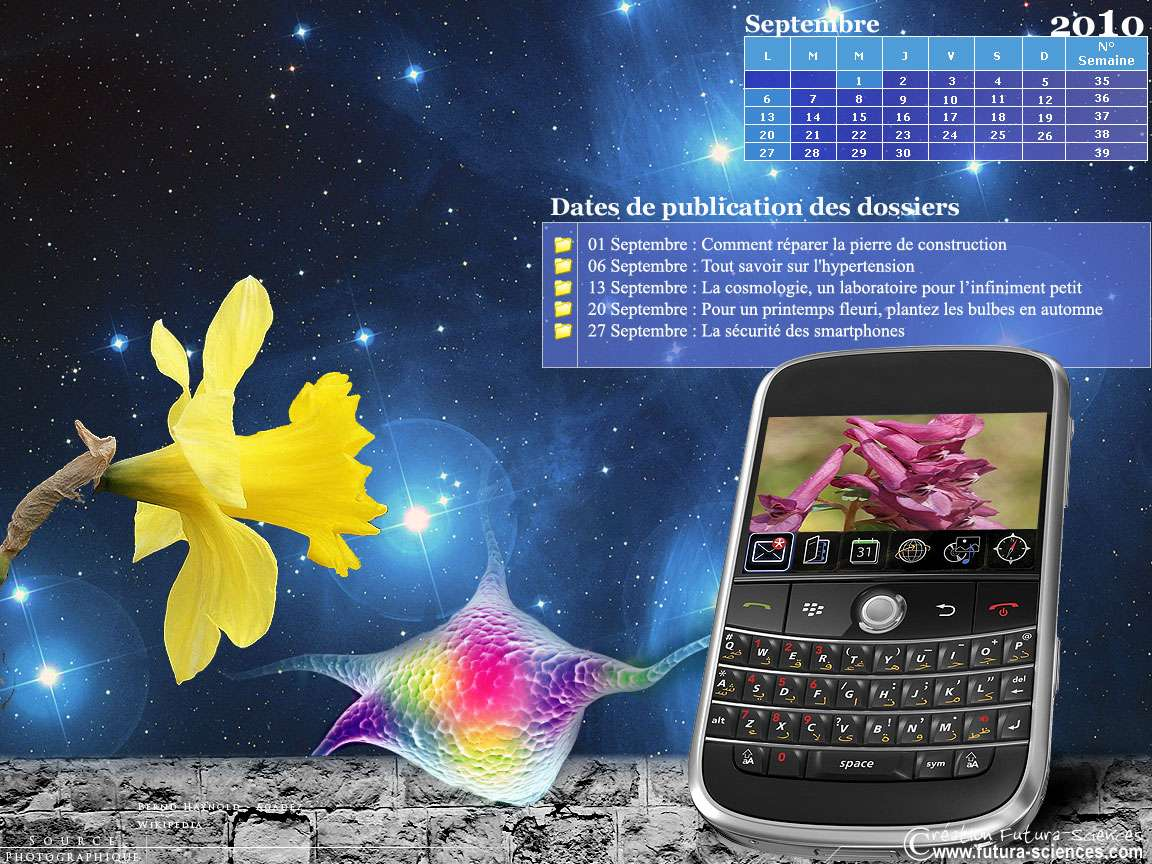 Cosmologie, smartphones et hypertension. Crédits : Futura-Sciences