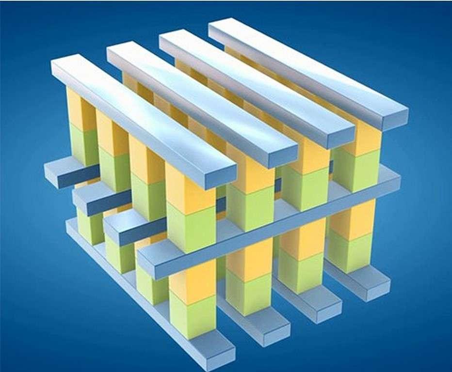 Associé à Micron Technology, Intel a développé un nouveau type de mémoire non volatile qui, selon lui, représente la première innovation majeure depuis l'introduction de la mémoire Flash NAND en 1989. © Intel