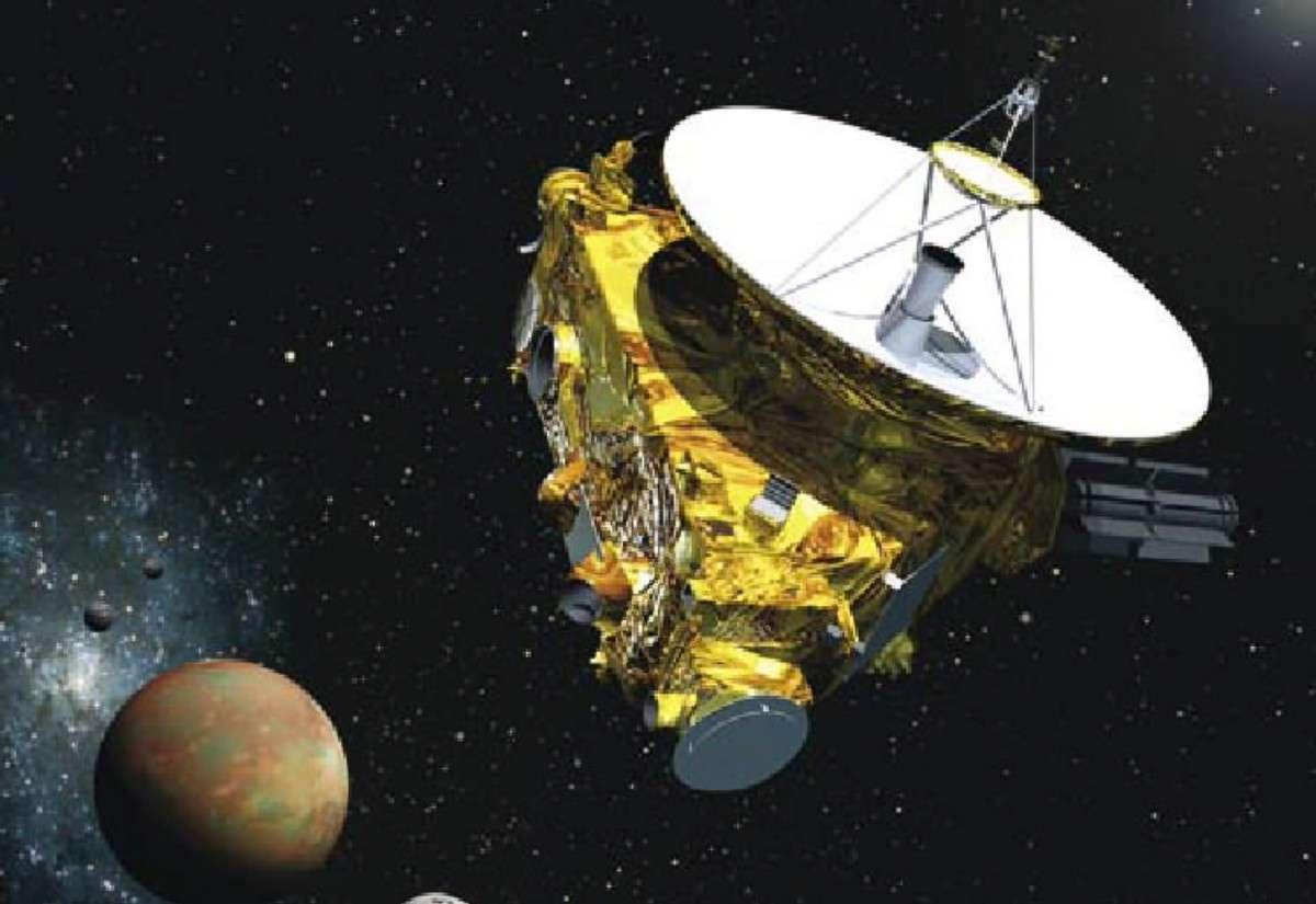 En route depuis 2006, la sonde américaine New Horizons atteindra Pluton en 2015. © Nasa