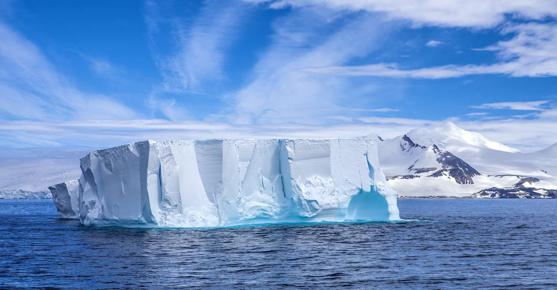 Un iceberg de plus de 1.200 km2 vient de se détacher de l'Antarctique. Ici, une image d'illustration. © marcaletourneux, Adobe