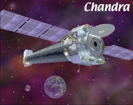 Chandra, un télescope spatial spécialisé dans l'observation des sources de rayons X. (Crédits : NASA)