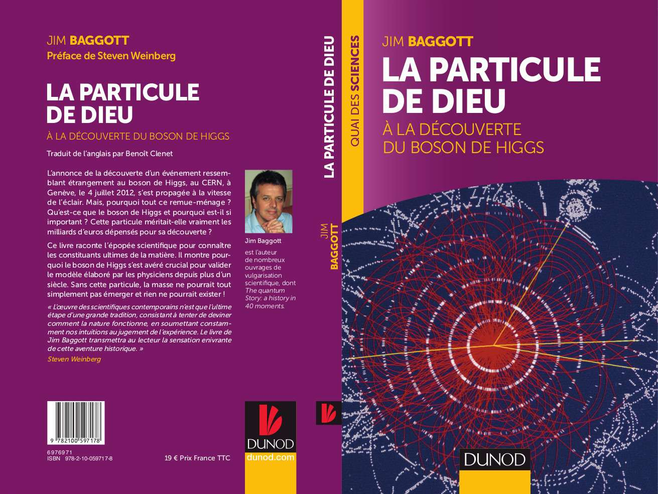 Découvrez ou redécouvrez l'histoire du boson de Higgs ! © Dunod