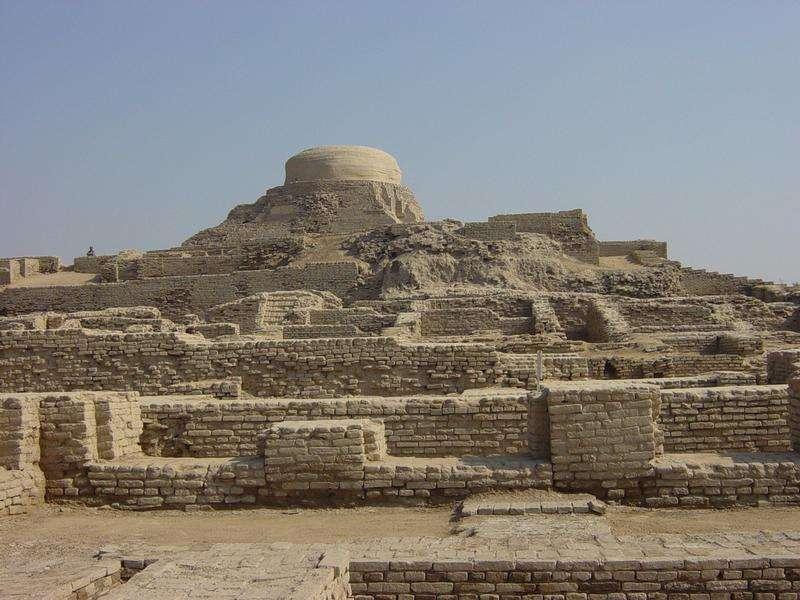 Le site de Mohenjo Daro au Pakistan. Crédit : Unesco / Junhi Han