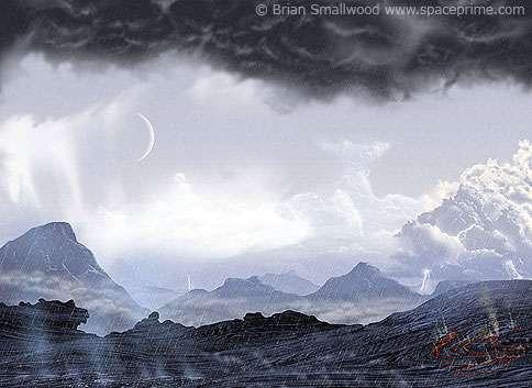 Une image de la Terre à l'Hadéen ?