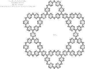 La structure des nanomolécules fractales(Crédits : Saw-Wai Hla, , Ohio University)