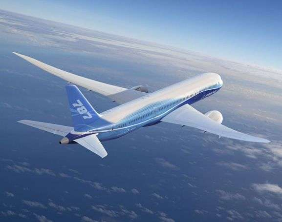 Boeing 787 Dreamliner. Crédit Boeing.