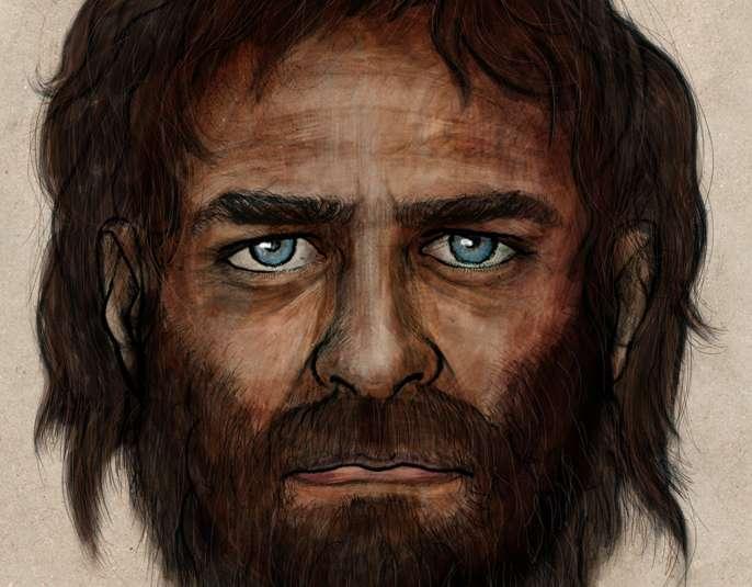 Les chasseurs-cueilleurs espagnols du mésolithique devaient avoir une peau foncée avec des yeux bleus. © CSIC