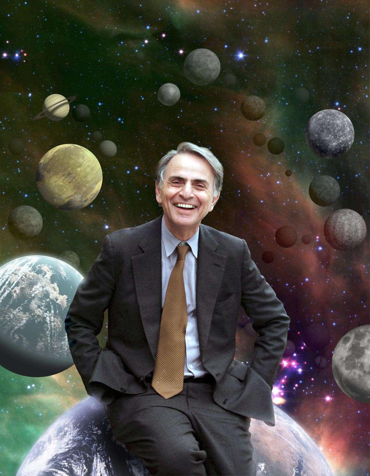 En réalisant la série Cosmos et en fondant le programme Seti, Carl Sagan a réussi une partie de son pari, inspirer les exobiologistes du futur. Il a fait rêver une jeune génération qui est en train de prendre la relève avec Blue Marble Space. © Nasa