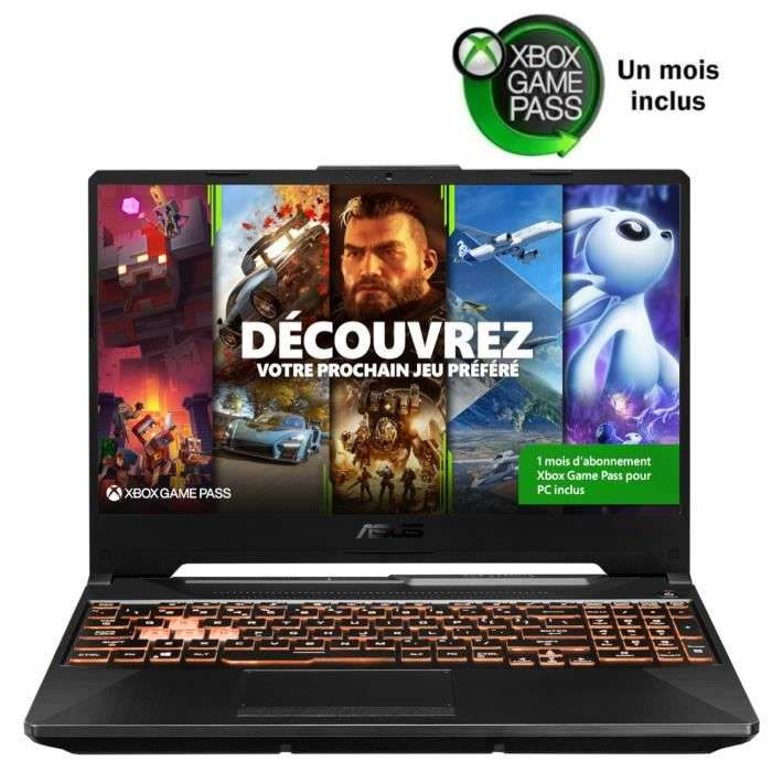 Bon plan : le PC portable gamer ASUS FX505GT-HN004T © Cdiscount