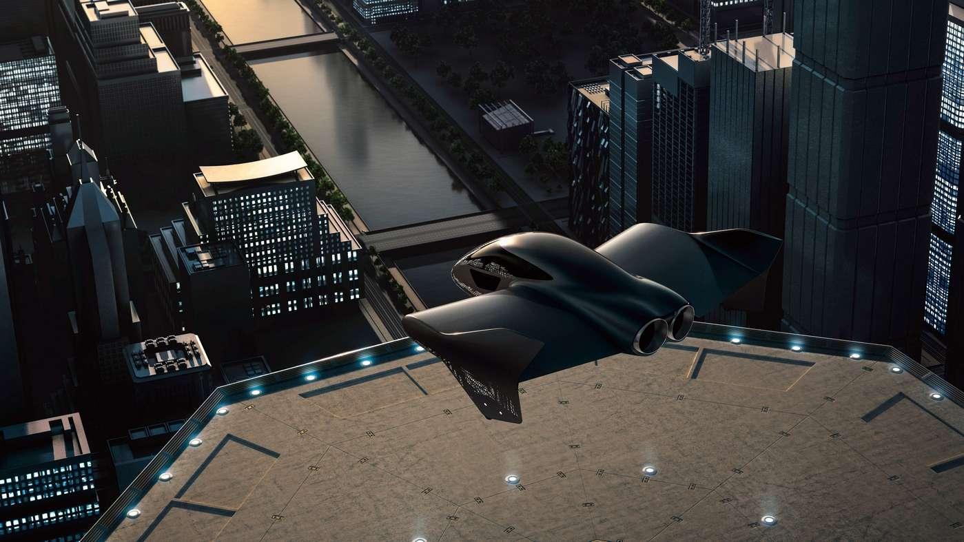 Ce rendu du taxi volant Boeing/Porsche préfigure-t-il le modèle final ? © Porsche
