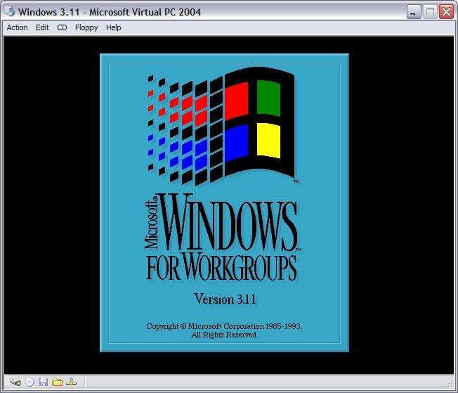 Windows for Workgroups, alias 3.11, lancé en 1992, confirma définitivement le succès de Windows.