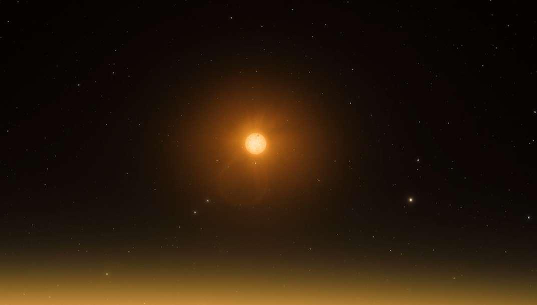 Première image d'une protoplanète saisie par le VLT