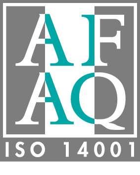 Logo de la norme ISO 14.001. © Afaq