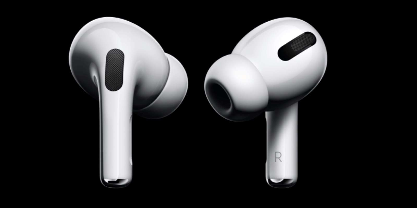 La nouveauté principale des AirPods Pro par rapport à la version classique est sa technologie de réduction de bruit active. © Apple Store