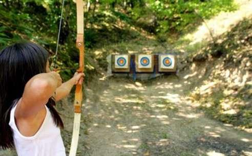 Le tir à l'arc est un sport qui sollicite les muscles du dos, des bras et la ceinture abdominale. © Phovoir