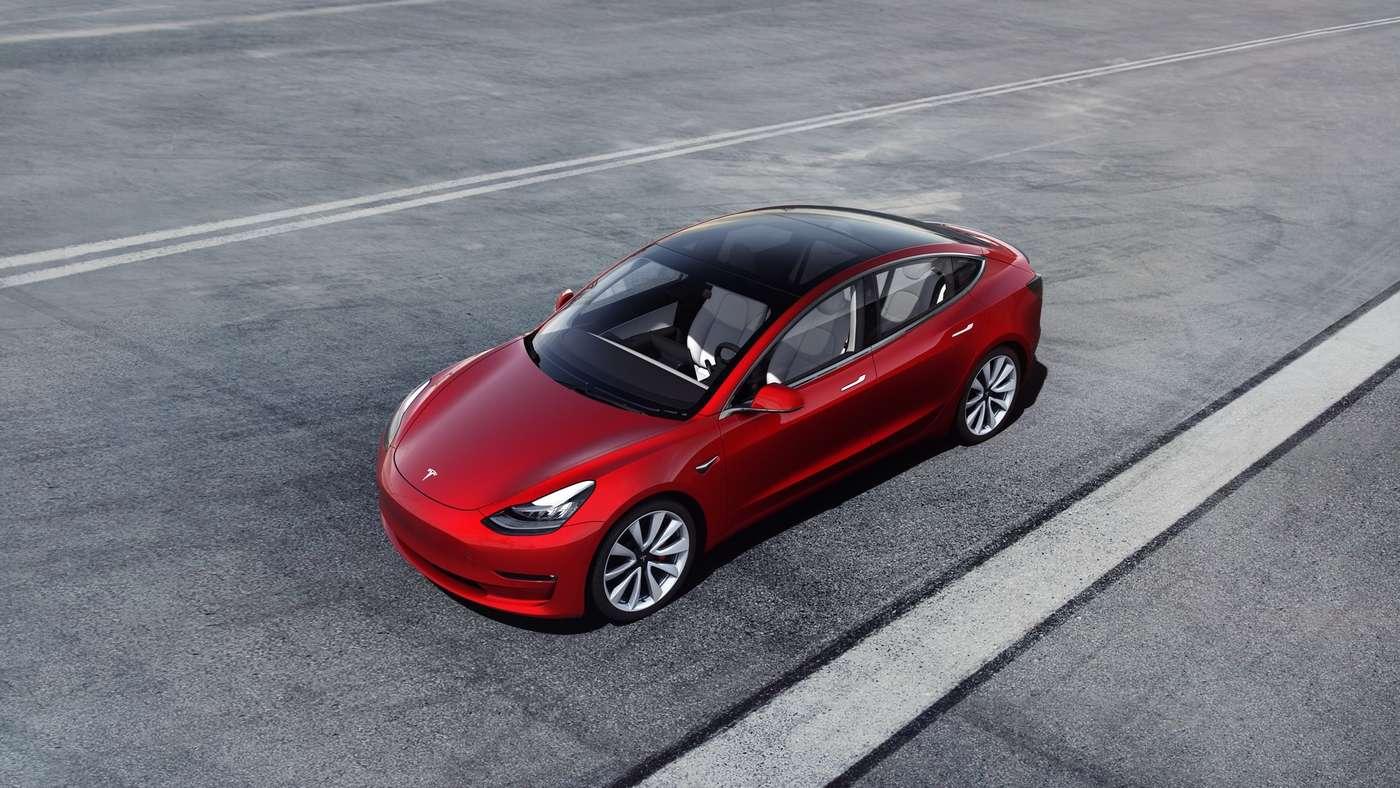 Avec une pompe à chaleur, la Tesla Model 3 pourrait gagner en autonomie par temps froid. © Tesla