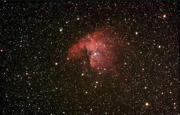 La nébuleuse NGC 281, une des nombreuses images que l'on peut découvrir sur le blog (cliché de Gloffic, son pseudo sur le forum d'astronomie)
