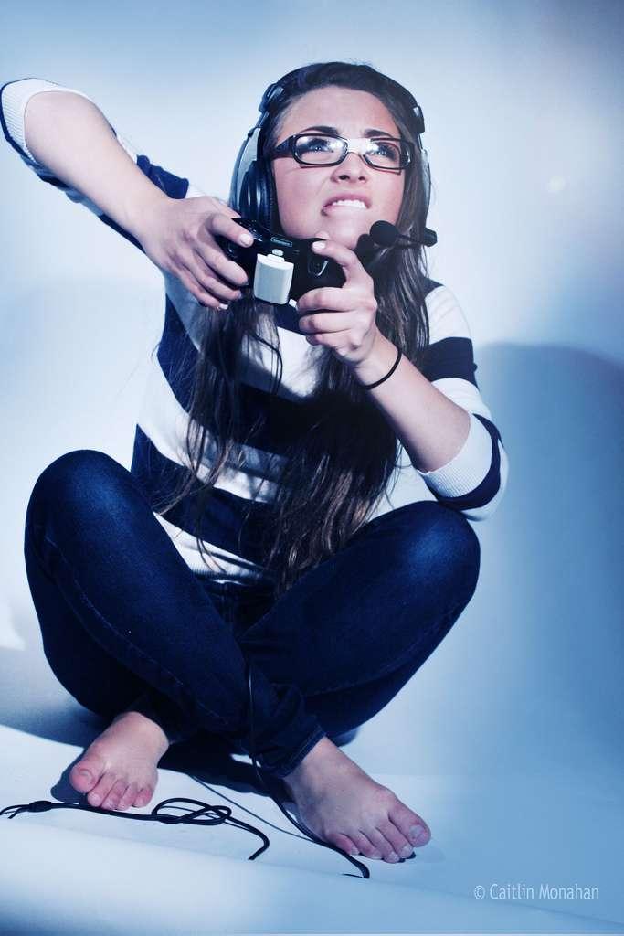S'amuser aux jeux vidéo ne constituerait pas seulement une activité ludique, mais pourrait contribuer à aider son cerveau ! © CaitlinMonahan, Flickr, cc by nc nd 2.0