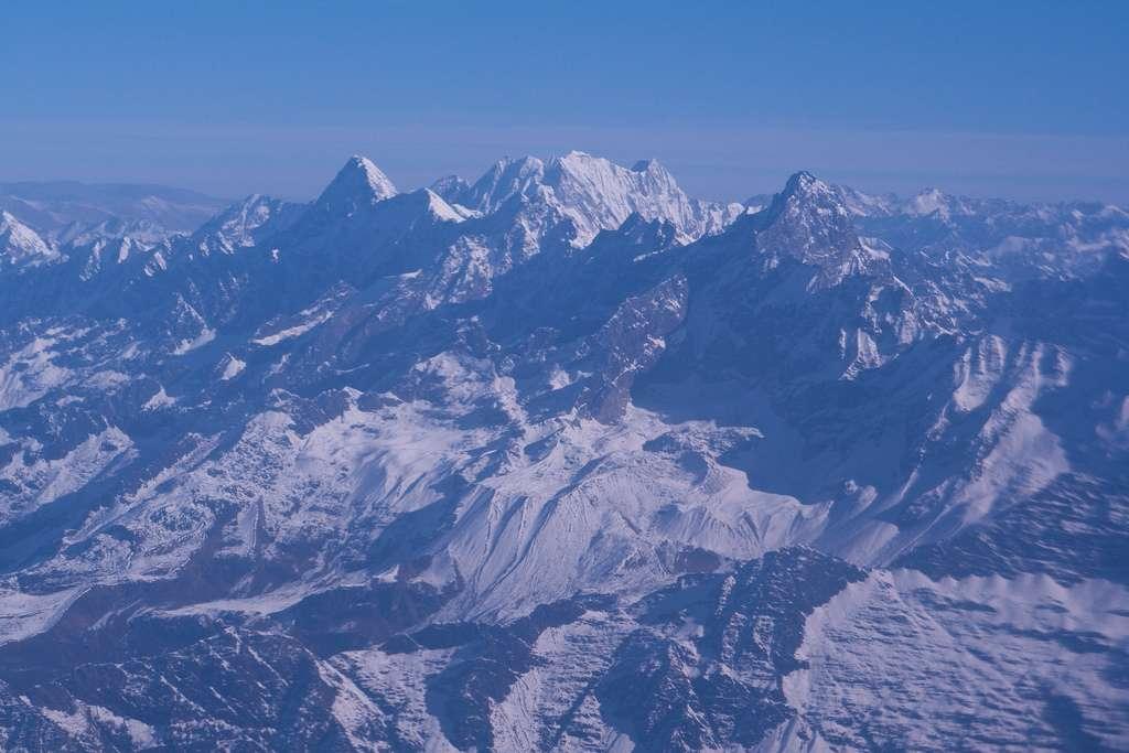 La chaîne de montagne de l'Himalaya est née lors de la collision entre la plaque indienne et l'eurasienne qui a causé un soulèvement tectonique majeur. © melomelo, Flickr, CC by-nc-sa 2.0